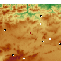 Nearby Forecast Locations - Telerghma - Map