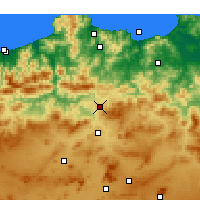 Nearby Forecast Locations - Didouche Mourad - Map