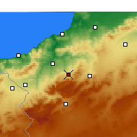 Nearby Forecast Locations - Chetouane - Map