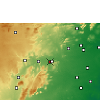 Nearby Forecast Locations - Vellore - Map