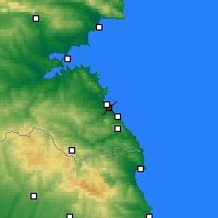 Nearby Forecast Locations - Lozenets - Map