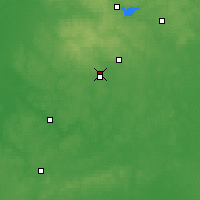 Nearby Forecast Locations - Dzyarzhynsk - Map