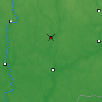 Nearby Forecast Locations - Chavusy - Map