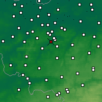 Nearby Forecast Locations - Ninove - Map