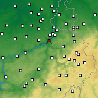 Nearby Forecast Locations - Herstal - Map