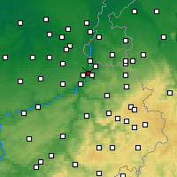 Nearby Forecast Locations - Visé - Map