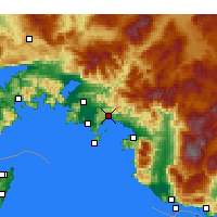 Nearby Forecast Locations - Göcek - Map
