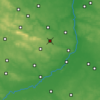 Nearby Forecast Locations - Opatów - Map