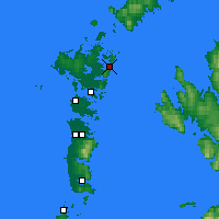 Nearby Forecast Locations - Lochmaddy - Map