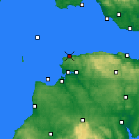 Nearby Forecast Locations - Ilfracombe - Map