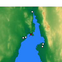 Nearby Forecast Locations - False Bay - Map