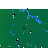 Nearby Forecast Locations - Meherpur - Map