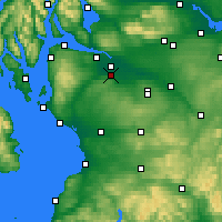 Nearby Forecast Locations - Paisley - Map