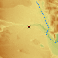 Nearby Forecast Locations - Rio Mayo - Map