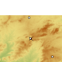Nearby Forecast Locations - Arcoverde - Map