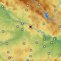 Nearby Forecast Locations - Vichtenstein - Map