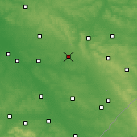 Nearby Forecast Locations - Biłgoraj - Map