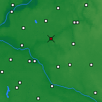 Nearby Forecast Locations - Golub-Dobrzyń - Map
