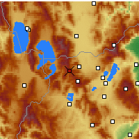 Nearby Forecast Locations - Vigla - Pisoderi - Map