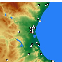 Nearby Forecast Locations - Torrent - Map
