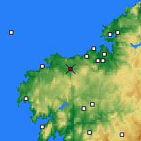 Nearby Forecast Locations - Carballo - Map