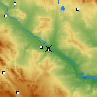Nearby Forecast Locations - Almozara - Map