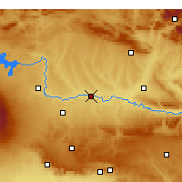 Nearby Forecast Locations - Bismil - Map