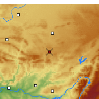 Nearby Forecast Locations - Almagro - Map