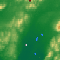 Nearby Forecast Locations - Red Dog Mine - Map
