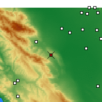 Nearby Forecast Locations - Avenal - Map