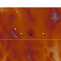 Nearby Forecast Locations - Bisbee - Map