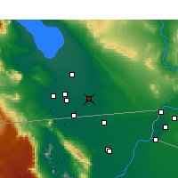 Nearby Forecast Locations - Holtville - Map