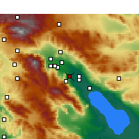 Nearby Forecast Locations - La Quinta - Map