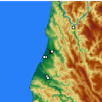 Nearby Forecast Locations - Mckinleyville - Map