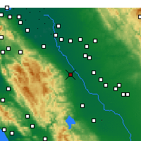 Nearby Forecast Locations - Patterson - Map