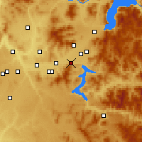 Nearby Forecast Locations - Post Falls - Map