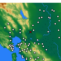 Nearby Forecast Locations - Suisun - Map